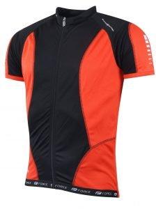 kod: 900108 FORCE T12 koszulka czarno-czerwona S