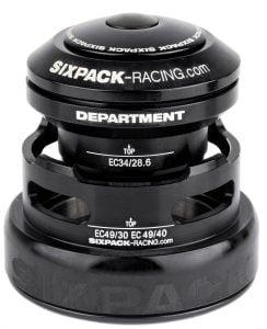SIXPACK Stery DEPARTMENT (2w1) taperowane czarne
