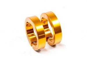 SIXPACK Obejma chwytów złota
