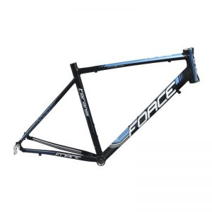 frame FORCE TARANIS road,black matt-blue L/540