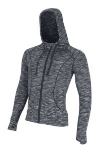 Bluza dresowa FORCE FITNESS z kapturem, L