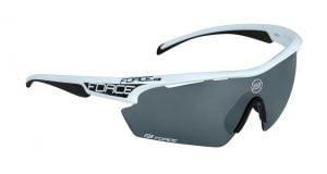 Okulary przeciwsłoneczne FORCE AEON biało-czarne oprawki - szkła czarny laser