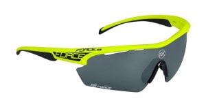 Okulary przeciwsłoneczne FORCE AEON fluo-czarne oprawki - szkła czarny laser