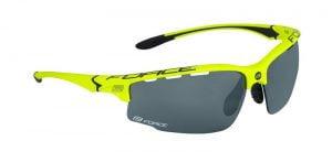 Okulary FORCE QUEEN fluo-czarne oprawki - szkła czarny laser