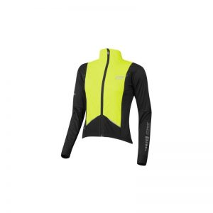 jacket FORCE X57 LADY windproof, black-fluo L