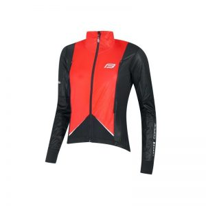 jacket FORCE X57 LADY windproof, black-red L