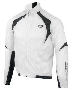 jacket FORCE X53 windproof, white-black L II.Q