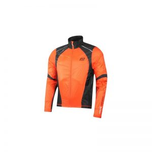jacket FORCE X53 windproof, orange-black L