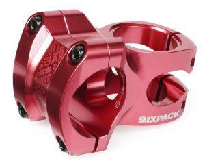 SIXPACK Mostek SKYWALKER 35mm/31,8mm czerwony
