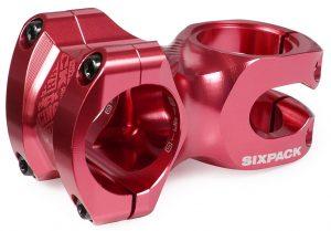 SIXPACK Mostek SKYWALKER 50mm/31,8mm czerwony