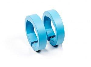 SIXPACK Obejma chwytów niebieski lazur