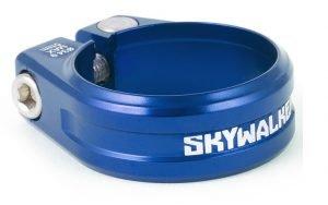 SIXPACK Skywalker Zacisk podsiodłowy na imbus 34,9 mm niebieski