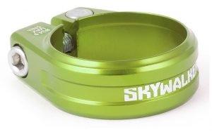 SIXPACK Skywalker Zacisk podsiodłowy na imbus 34,9 mm zielony