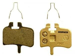 SIXPACK Hayes HFX, klocki hamulcowe półmetaliczne