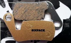 SIXPACK Magura Marta, klocki hamulcowe półmetaliczne
