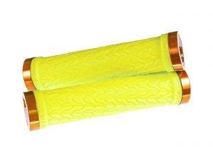 SIXPACK S-TRIX chwyty przykręcane na kierownicę żółte