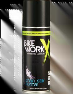 BIKE WORKX Biały smar do łańcucha CHAIN STAR NORMAL 200 ml