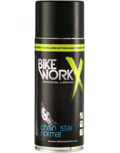 BIKE WORKX Biały smar do łańcucha CHAIN STAR NORMAL 400 ml