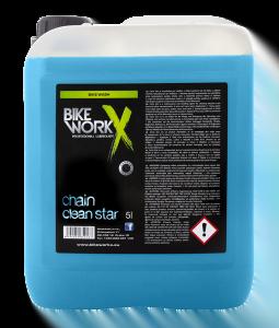 BIKE WORKX Płyn czyszczący do łańcucha i napędu CHAIN CLEAN STAR 5000ml