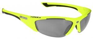 Okulary przeciwsłoneczne FORCE LADY fluo-czarne oprawki - szkła czarny laser